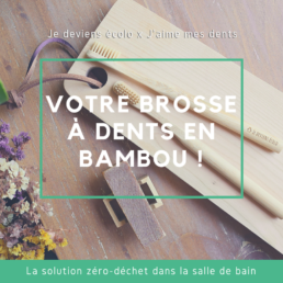 brosses à dents en bambou j'aime mes dents jedeviensecolo