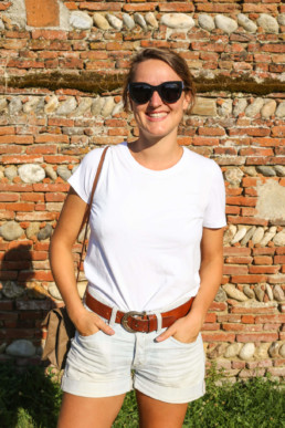 Organic white t-shirt by Organic Basics - jedeviensecolo.fr